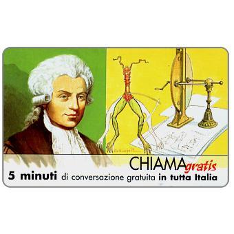 Phonecard for sale: Personaggi n. 78 – Luigi Galvani, 5 min.