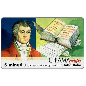 The Phonecard Shop: Personaggi n. 84 – Georg Wilhelm Friedrich Hegel, 5 min.