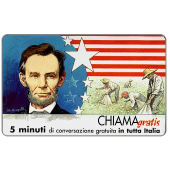 Personaggi n. 91 – Abraham Lincoln, 5 min.