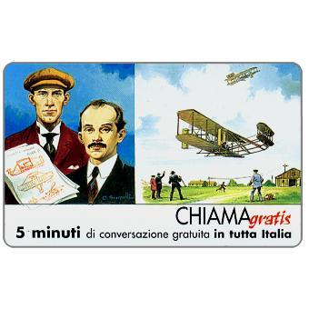 Personaggi n. 105 – Fratelli Wright - Wilburg e Orville, 5 min.