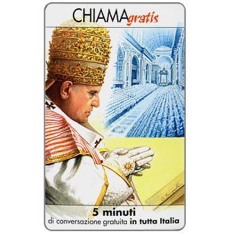 The Phonecard Shop: Personaggi n. 109 – Papa Giovanni XXIII (Angelo Giuseppe Roncalli), 5 min.