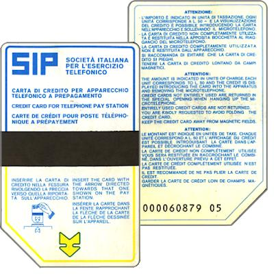 Sip, Sida, first public card in the world