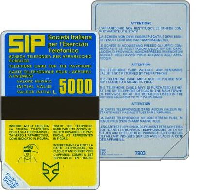 Sip, Sida 1, first group, 7903, L.5000