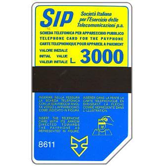 Sip, Sida 3, third group, 8611, L.3000