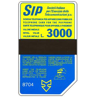 Sip, Sida 3, third group, 8704, L.3000