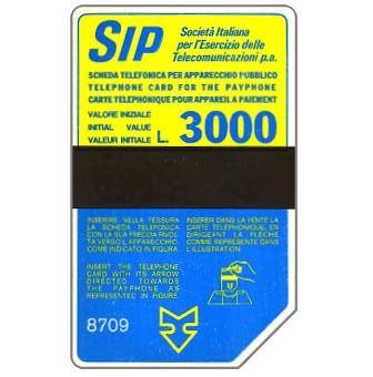 Sip, Sida 3, third group, 8709, L.3000