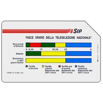 Fasce Orarie, Mantegazza, 31.12.91, L.10000