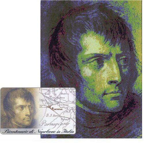 Bicentenario di Napoleone in Italia, 30.06.99, L.5000, in folder
