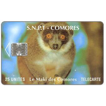 Le Maki des Comores, chip SC-7, 25 units