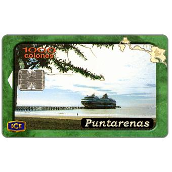 Phonecard for sale: Puntarenas, 1000 colones