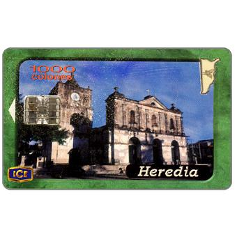 Phonecard for sale: Heredia, 1000 colones