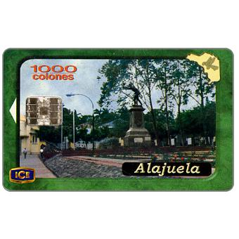 Phonecard for sale: Alajuela, 1000 colones