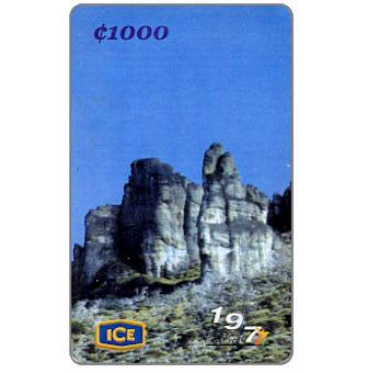 Los Crestones, Chirripò, 1000 colones