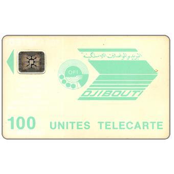 OPT logo, chip SC-4 Afnor without frame, 100 units