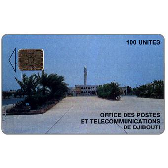 View of Post Office, chip SC-5 Afnor, 100 units