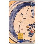 The Phonecard Shop: Ladatel, Majolicas, Azulejo policromo Luna, s.XVII, $20