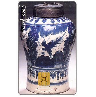 Ladatel, Pottery, Jarron Chocolatero, s.XVIII, $20