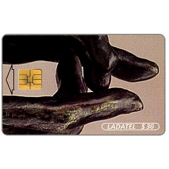 Ladatel, Hands, sculptures by A.Rodin, El Secreto, $30