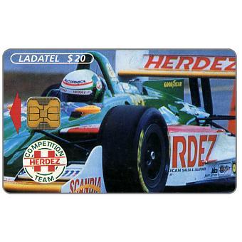 Ladatel, Herdez sportcar, front, $20