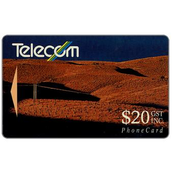 The Phonecard Shop: Landscapes,  Pine Plantation, $20