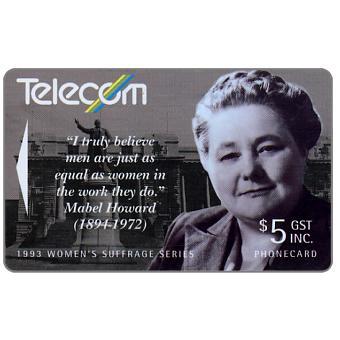 Women's Suffrage, Mabel Howard, $5