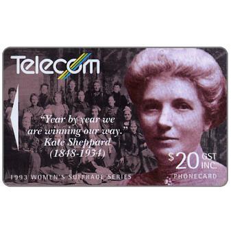 Women's Suffrage, Kate Sheppard, $20