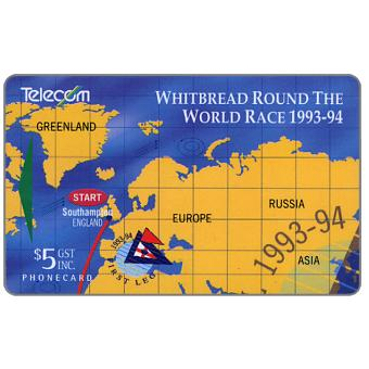 Withbread Round The World Race, puzzle 1/4, $5