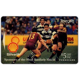 Shell New Zealand, Rugby, $5