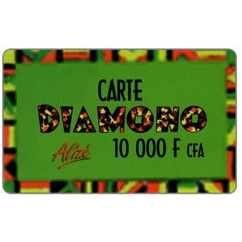Carte Diamono, 10000 FCFA