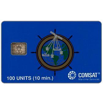 Comsat - 100 units, bronze helm, Schlumberger 2020, chip SC-6