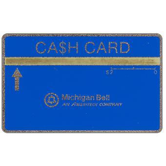 Ameritech - Michigan Bell Ca$h Card, 707A, $2