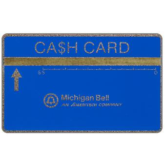 Ameritech - Michigan Bell Ca$h Card, 707B, $5