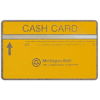 Ameritech - Michigan Bell Ca$h Card, 710B, $20