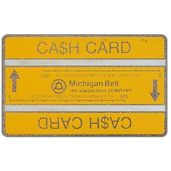 Ameritech - Michigan Bell Ca$h Card, 710C, $40
