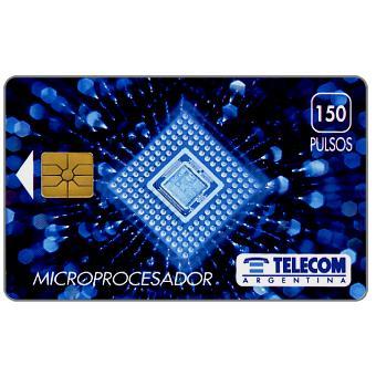 Telecom Argentina - Microprocessor, 150 pulsos