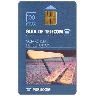 Telecom Argentina - Publicom white pages, 100 pulsos