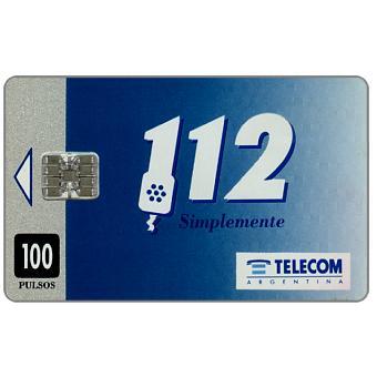 Telecom Argentina - 112 Service, 100 pulsos