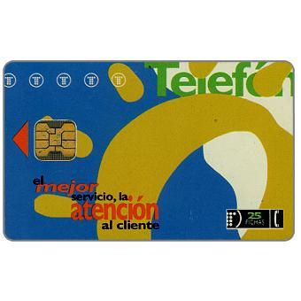 Telefonica de Argentina - El Mejor Servicio, La Atención Al Cliente, 25 fichas