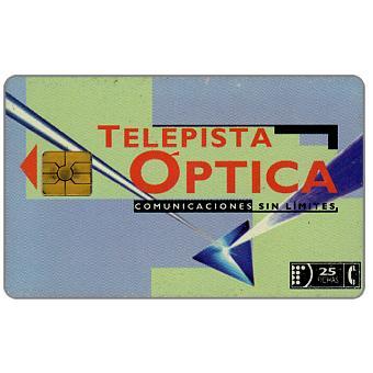 Telefonica de Argentina - Telepista Óptica, 25 fichas