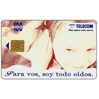 Telecom Argentina - Children, 100 pulsos