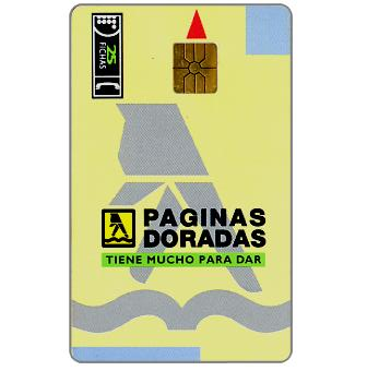Phonecard for sale: Telefonica de Argentina - Yellow pages, 25 fichas