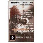 The Phonecard Shop: Telefonica de Argentina - Caritas, 20 fichas