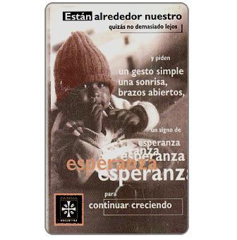 Telefonica de Argentina - Caritas, 20 fichas