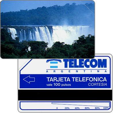 Telecom Argentina - Iguazu falls, Complimentary 100 pulsos