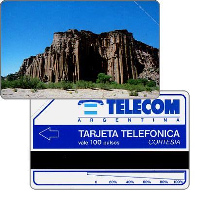 Telecom Argentina - Rocky ledge, Complimentary 100 pulsos