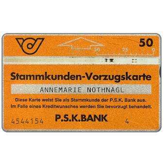 PSK Stammkunden Vorzugskarte 1, 806E, 50 units