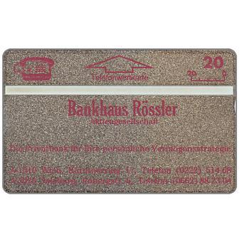Bankhaus Rossler, 20 units