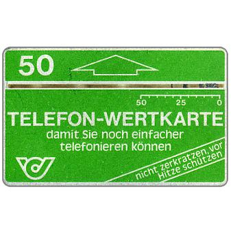Definitive, 1,5 mm band, code A2, 'Damit sie noch...', no notch, 50 units