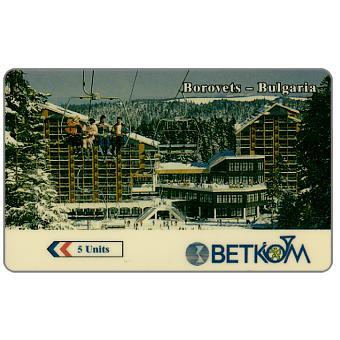 Betkom - Borovets, logo Betkom, 25BULH, 5 units