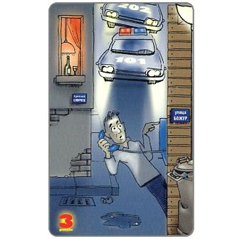 Mobika - Police puzzle 3/4, 200 units